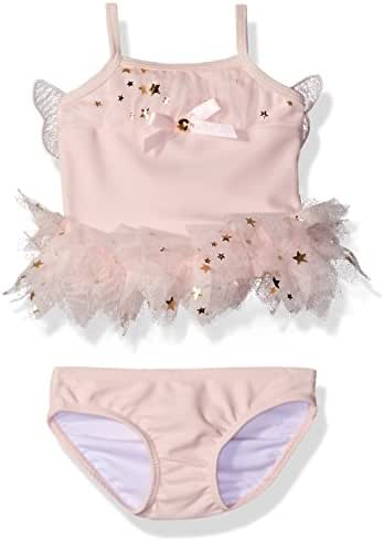 Kate Mack Girls' Fairy Dance 2 Piece Skirted Swimsuit
