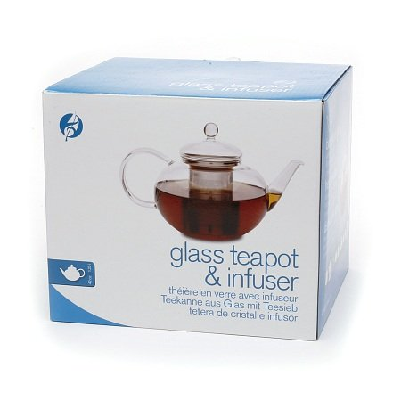 Adagio Teas Glass Teapot & Infuser 42 oz (Pack of 1) (Glass Adagio Teas Teapot)