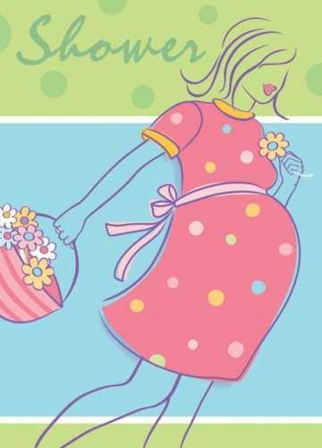 Invitation & Envelope Kit - 12PK/Baby On The Way ()