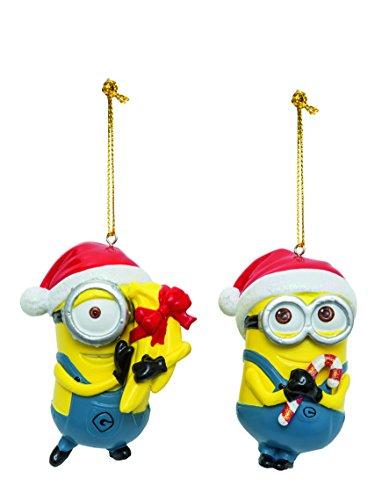 Kurt Adler Despicable Me Dave and Carl Christmas Ornaments 2 (Christmas Ornaments For Kids)