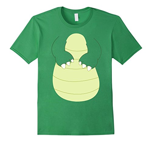 Crocodile Costumes Adult (Mens Crocodile Halloween Costume T-Shirt for Kids & Adults Large Grass)