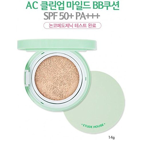 Cheap [Etude House] AC Clean Up Mild BB Cushion SPF50+ PA+++ #02 Natural Beige free shipping