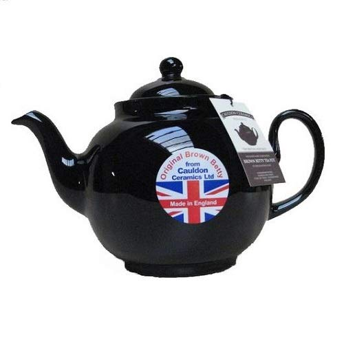 8 Cup Brown Betty Teapot in Rockingham Brown