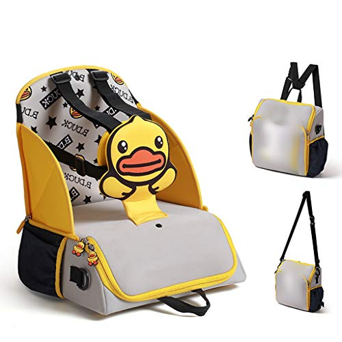 Portable High Chair, Mummy Bag, Baby Seat - Small Yellow Duck