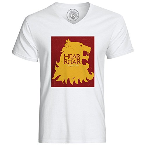 T-Shirt Of Thrones Lannister Hear Me Roar Lion
