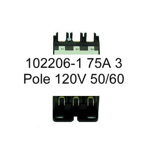 durable service 102206-1 75A 3 Pole 120V 50/60