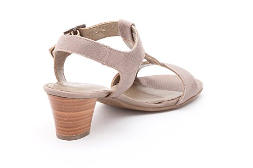DIANA Nu pieds MEPHISTO Sandales Taupe Femme n1FO6wq8wg