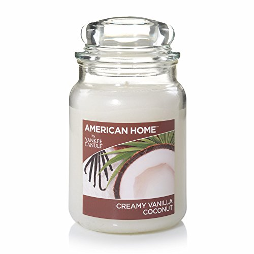 American Home by Yankee Candle Scented Candle, 19 oz. - Creamy Vanilla Coconut 1506082 ()