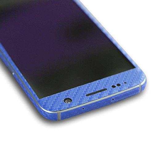 AppSkins Rückseite/Seitenteile Samsung Galaxy S7 Carbon blue