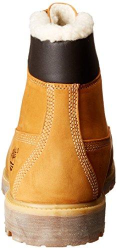 Timberland 6 in fur Warm Wheat Nubuck Warm Lined CA13GA, Boots Gelb(Wheat)
