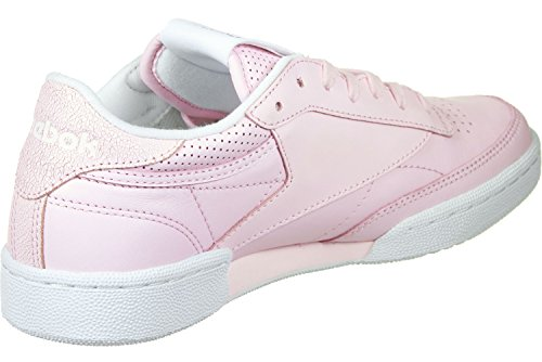 Femme Running 85 blanc Reebok De argent Club Rose Fbt C Multicolore Chaussures Rose ZnqRwa04Y