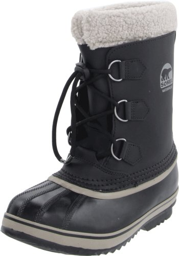 Sorel Yoot Pac Tp Winter Boot,Black,8 M US Toddler ()
