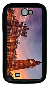 for sale case big ben london TPU Black case/cover for samsung galaxy N7100/2