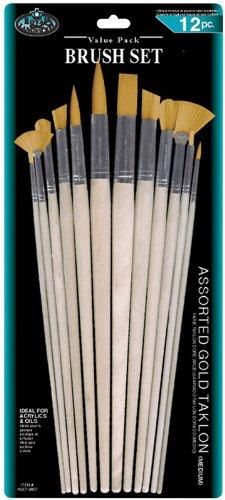 Combo Taklon Brush Set