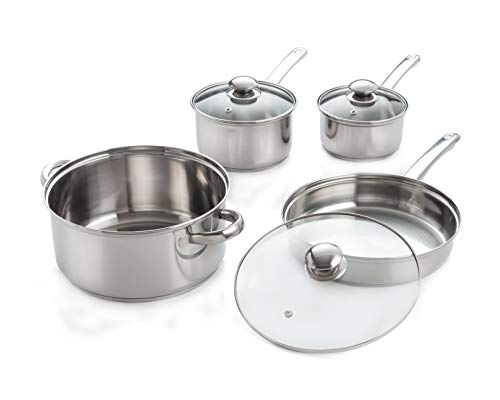 Encapsulated Base (7-Piece Stainless Steel Cookware Set with Encapsulated Base)