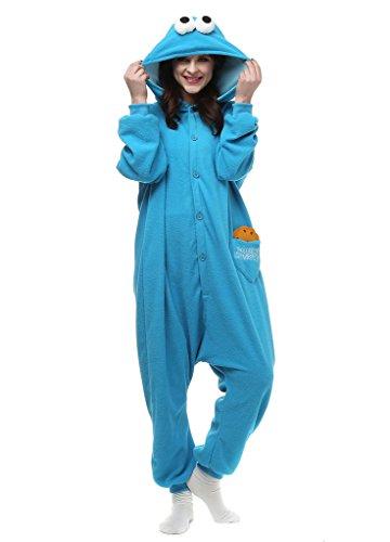 Pinkmerry Adult Unisex Animal Cosplay Onesies Pajamas Sleepwear costumes (Cute Animal Costumes For Men)