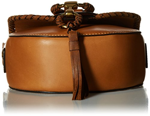 Cognac Bag Small Leather Saddle FRYE Ilana Wrapped wqU6zWp