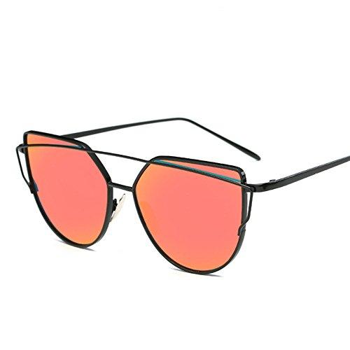 Y Playa Mujeres De 10 Sol Gafas Espejo Estados Unidos Dirección 2 Viajes Personalidad De Gafas Moda Sol Europa RinV De Aw6qBB