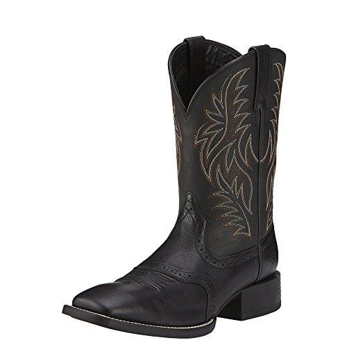 Ariat Men's Sport Western Cowboy Boot, Black, 9 D US