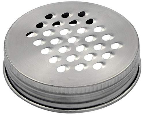 Mason Jar Lifestyle Grater/Shredder Lid for Regular Mouth Jars (3 Pack)
