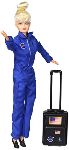 Daron Astronaut Doll (Female) in Blue Suit - ( Styles may Vary )