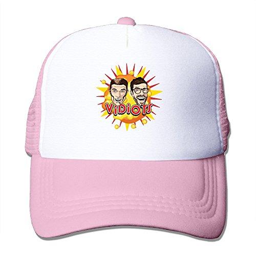[ACMIRAN Vidiots Adjustable Trucker Hat One Size Pink] (Makers Mark Costume)