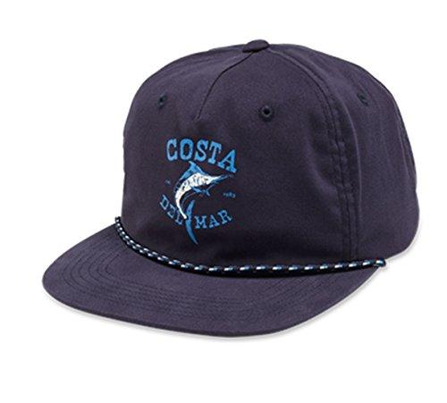 - Costa Del Mar Twill Captains Hat, Navy