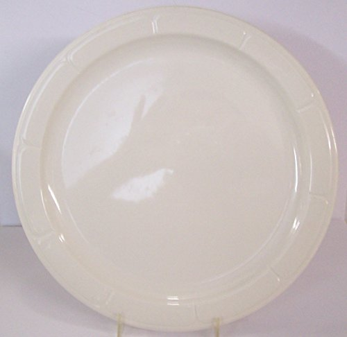 12 Syracuse Gibraltar Pattern White China Dinner Plates 12