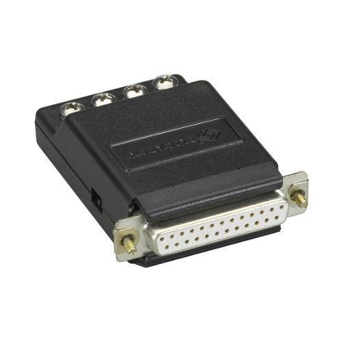 RS-232 to Current-Loop Interface-Powered Bidirectional Converter, Female