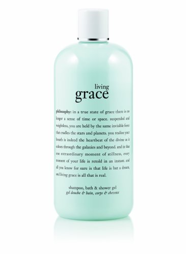 Philosophy Living Grace Shampoo, Shower Gel and Bubble Bath, 16 Ounce