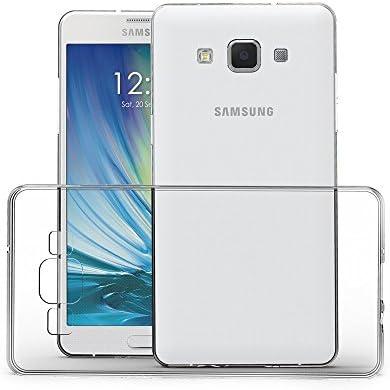 CAMPUS TELECOM Coque Samsung Galaxy A5 2015 Etui Silicone Gel (A500F/A500FU) Housse Antichoc Samsung A5 Transparente Souple Coque de Protection ...