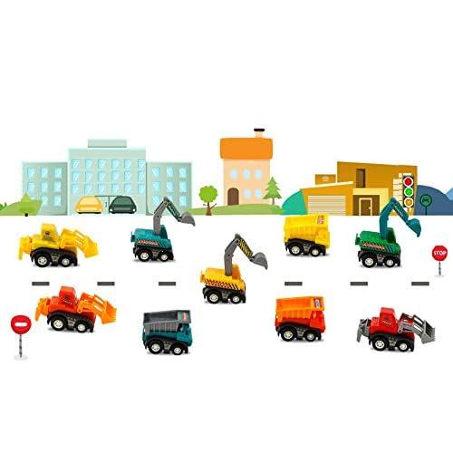 Juguete de Coches Mini Excavadora, Juegos para Niños de 3 Años, 9 ...