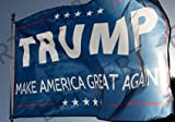 ERT FLAGDonald Trump for President 2016 3x5 Flag by ERT Quality MaterialMade of Durable Polyester.The flags edge strengthen double stitches.You will find that the flag is high quality work.Suitable for siteSuitable for indoor hung on the wall, of cou...