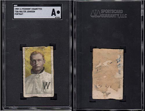 1909 t206 tobacco (baseball) card#230 sgc walter johnson for sale  Delivered anywhere in USA