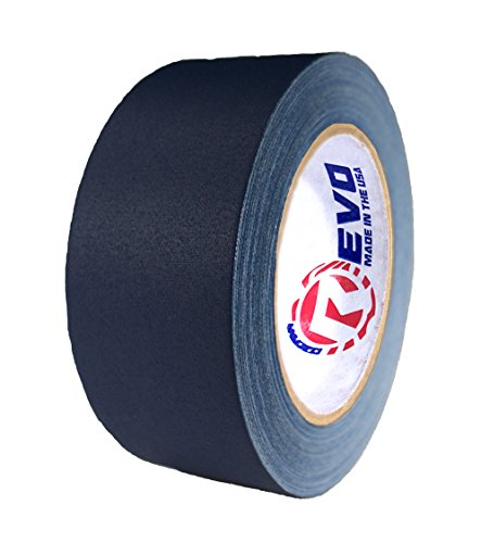"""REVO Premium Professional Gaffers Tape (2"""" x 30 yards) MADE IN USA (BLUE GAFFERS) Non Reflective Tape- Camera Tape- Better than Duct Tape (Black, Gray, Green, Red, White, Yellow) SINGLE ROLL"""