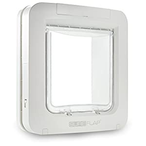 SureFlap Microchip Pet Door, White (4 x C Batteries Required) Click on image for further info.
