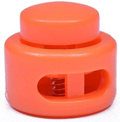 Orange Cord Locks Great for paracord!