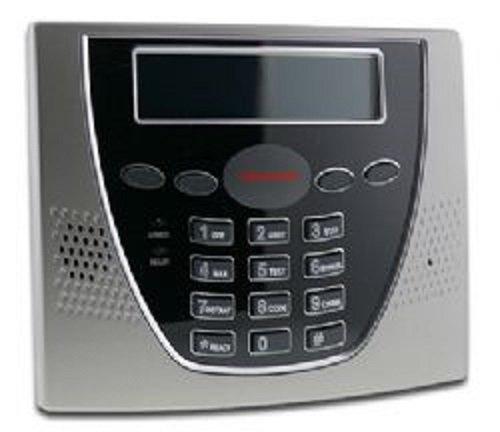 Honeywell 6460S Ademco/Honeywell Premium Alpha Keypad, Silver/Black