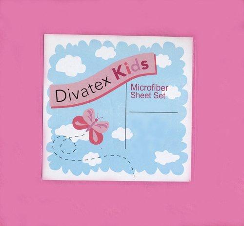 UPC 806222396514, Hot Pink Full Microfiber Sheet Set Divatex Kids Sheets