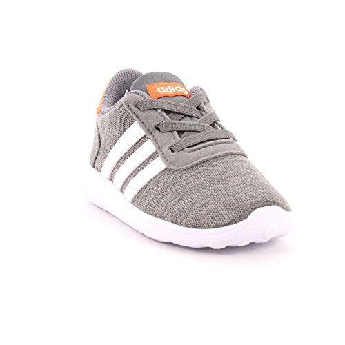 adidas Unisex Baby Lite Racer Gymnastikschuhe Grau (Grey Three F17/ftwr White/hi-res Orange S18)