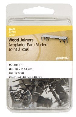 The Hillman Group 122728 No.0 Wood Joiner, 40-Pack