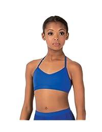 Child Skimpy Halter Dance Bra Top,BWP1030
