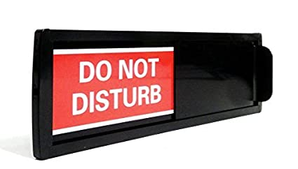 Amazon.com: Do Not Disturb, color negro (Do Not Disturb de ...