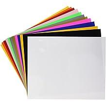 """Siser NA EasyWeed Heat Transfer Vinyl, 12 x 15"""" 12-Color Starter BUNDLE"""