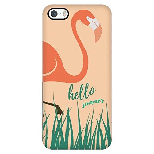 Amazoncom Beach Quotes Hello Summer Flamingo Thin Protective