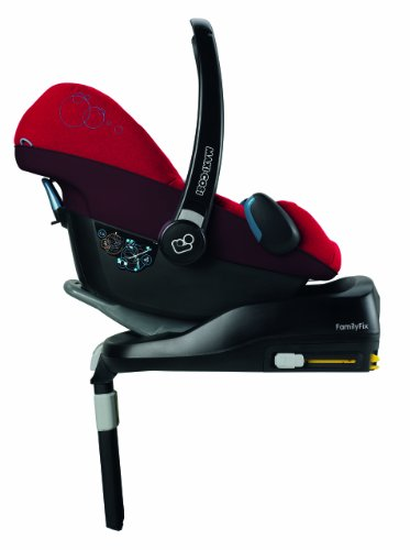 maxi cosi familyfix isofix base suitable for cabriofix and pearl black posh baby. Black Bedroom Furniture Sets. Home Design Ideas