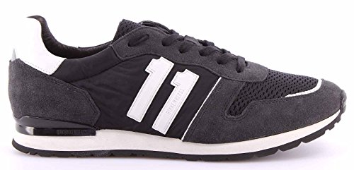 Anthrazit Herren Low Top Sneakers Bikkembergs 641192 gYxXnOPPB