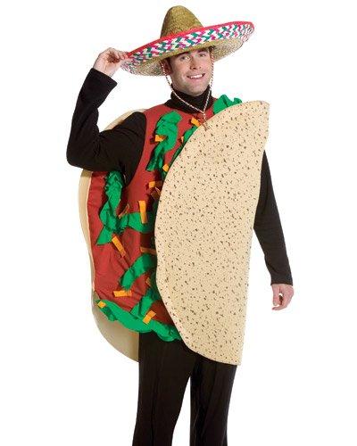 Adult Halloween Costumes For Men (Rasta Imposta Taco, Tan, Standard)