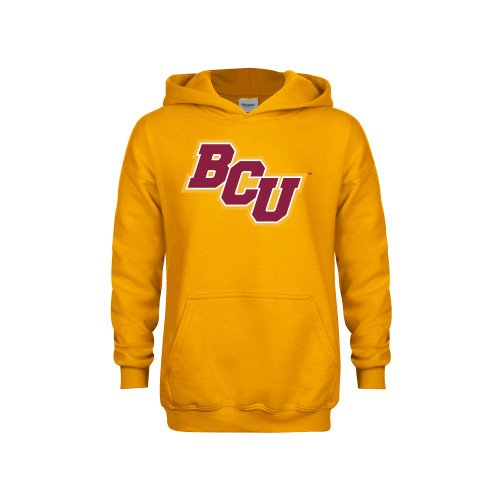 Bethune Cookman Youth Gold Fleece Hoodie BCU