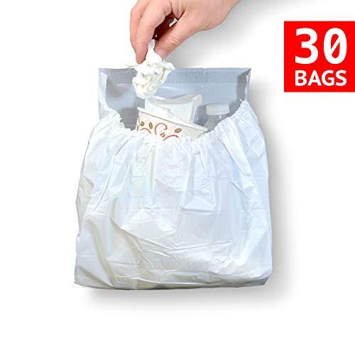 T-Rex Car Trash Bag Disposable Car Garbage Bags (30)